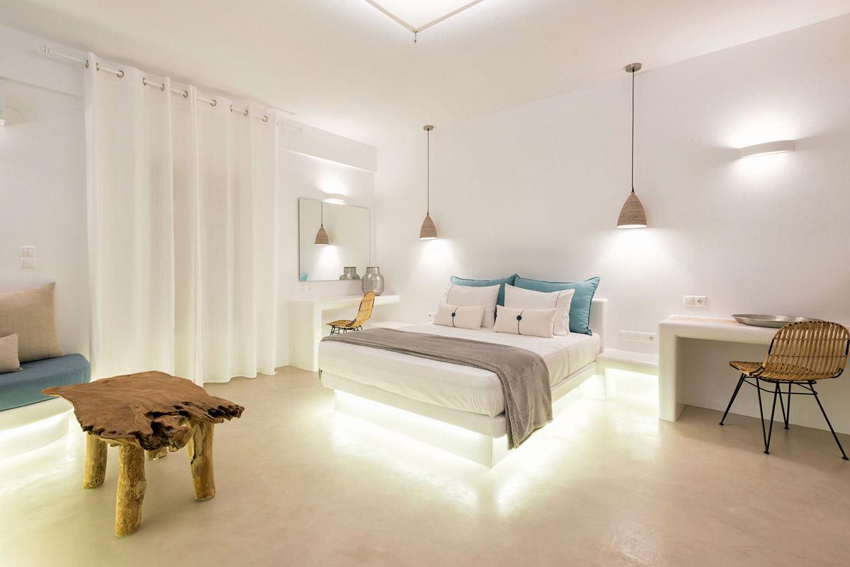 Exclusive Suite Con Vista Mare E Piscina Privata Jacuzzi Paros Alberghi Suites Alloggio Camere Villas Parikia Grecia